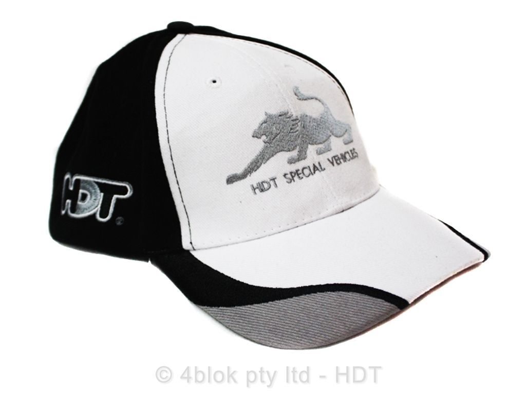 Holden HDT Solid Silver Iron Cap / Mens Regular Hat HDTCC002