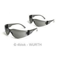 Wurth OHS Approved Stylish Tinted Saftey Glasses Pair Work Safe