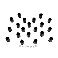 Holden Astra Wheel Nut Covers 17mm x 30mm 5 Stud 20 Pack New Genuine 4blok