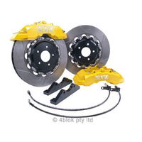 VE WM Yellow XYZ Front big brake upgrade kit 6 Pot 355mm