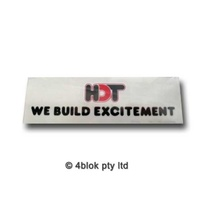 HDT VC Leveson St HDT Improved Decal - 40060VC