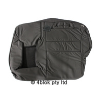 Grey VY Wagon Left Rear Seat Backing Cover