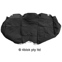 Black VZ S Pac Rear Seat Base Cover
