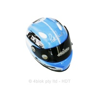 HDT Peter Brock Mini Helmet Display Limited Edition - PBH3