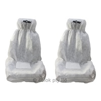 HSV Holden Seat cover throw overs white clubsport maloo NOS
