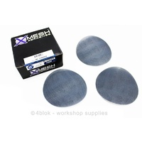 "80 Grit Sand Paper 6"" Pack Of 50 Discs Abrasive PTW Tools X - Mesh MG-SP0080B"