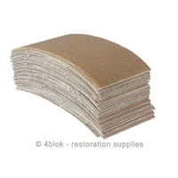 80 Grit Sand Paper 81 X 153 mm 50 Pack Abrasive PTW Tools X - Mesh MG-SP0080C