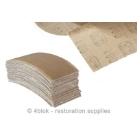 180 Grit Sand Paper 115 X 230mm 50 Pack Abrasive PTW Tools X - Mesh MG-SP0180D
