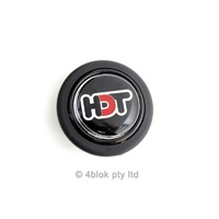 Holden HDT VH VK Momo Steering Wheel Horn Button Assembly Red / Black 57mm 4blok