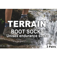 Stockpile Terrain Boot Sock
