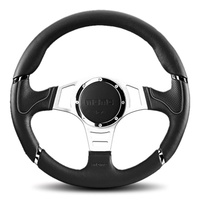 Millenium Sport Grey 350 Steering Wheel