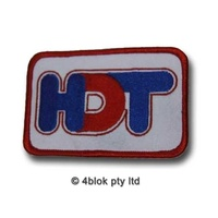 HDT Logo Cloth Badge - 40999P1