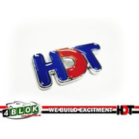 HDT VK Grille Badge 35mm Red & Blue - 40165A