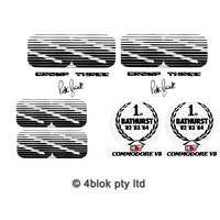 Commodore HDT VK Group 3 SS Decal Kit (Guards, Boot & Grille)