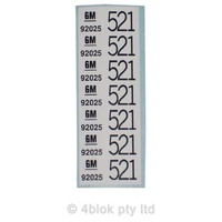HDT 521 Wiring Decal - 50027