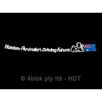 HDT Australias Driving Future Window Decal