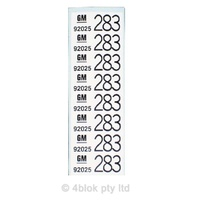 HDT 283 Wiring Decal - 50026