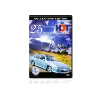25 Years Of HDT Brock Commodores DVD Documentary - 4blok
