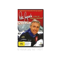 Celebrating an Australian racing legend Peter Brock 2 disc set special edition