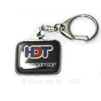 HDT Motorsport Key Ring Black - 80012K1BLACK
