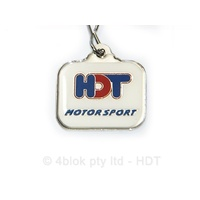 HDT Motorsport Key Ring White - 80012K2WHITE