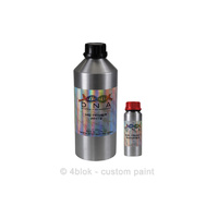 White High Solid Primer & hardner 1 Litre Kit