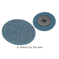 PTW Tools Surfacing discs blue fine 50mm 10 pack MG-DB50/10  - 4blok