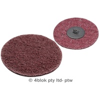 PTW Tools Surfacing discs red medium 75mm 5 pack MG-DR75/5  - 4blok