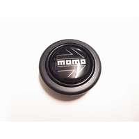 Momo Steering Wheel Horn Button Assembly Black / Silver 57mm 4blok