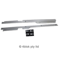 VY VZ Aluminium Cargo Tie Down Rails With D Shackles M NOS