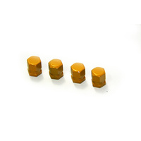 HDT Yellow Valve Caps - 50010